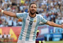 Игуаин се отказа от Аржентина