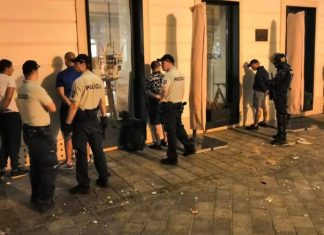 левски фенове бой братислава