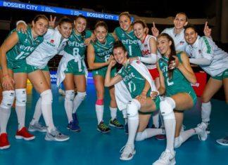 Женският ни национален отбор по волейбол