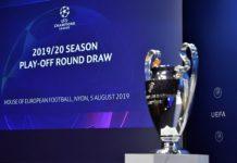 жребия за плейофите в Шампионската лига