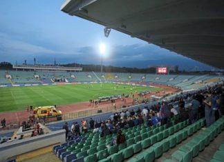 България – Англия на празен стадион
